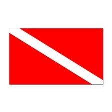 Dive Rectangle Car Magnet, Scuba Diving Apparel