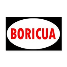 BORICUA ... Rectangle Car Magnet