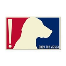 VIZSLA USA Tricolor Rectangle Car Magnet
