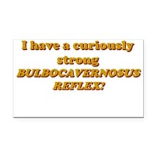 Strong bulbocavernosus reflex Rectangle Car Magnet