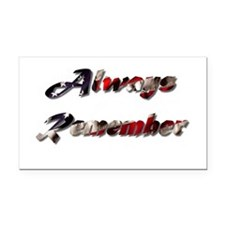 Patriotic Bumper Rectangle Car Magnet