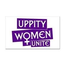 UPPITY WOMEN UNITE Rectangle Car Magnet