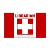 Libguard Rectangle Car Magnet