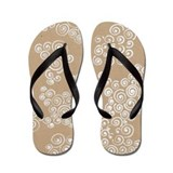 Craft Paper Bubbles Flip Flops