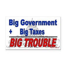 Big Trouble (Rectangle Car Magnet)