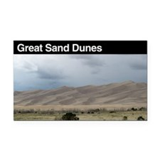 Great Sand Dunes National Par Rectangle Car Magnet
