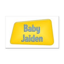 Baby Jaiden Rectangle Car Magnet