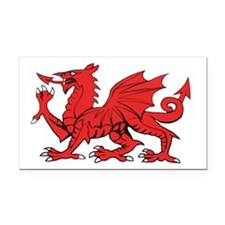...Red Dragon... Rectangle Car Magnet