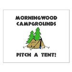 Morningwood Campgrounds Black.png Small Poster