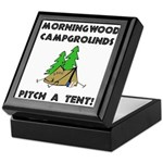 Morningwood Campgrounds Black.png Keepsake Box