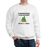 Morningwood Campgrounds Black.png Sweatshirt
