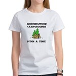 Morningwood Campgrounds Black.png Women's T-Shirt