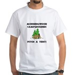 Morningwood Campgrounds Black.png White T-Shirt