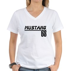 Mustang 68 Women's V-Neck T-Shirt