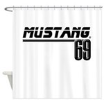 Mustang 69 Shower Curtain