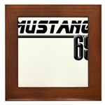 Mustang 69 Framed Tile