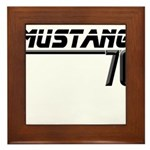 Mustang 70 Framed Tile