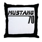 Mustang 70 Throw Pillow