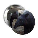 "Two Malayan Tapirs 2.25"" Button"