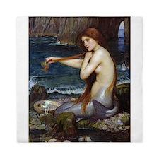 John William Waterhouse Mermaid Queen Duvet
