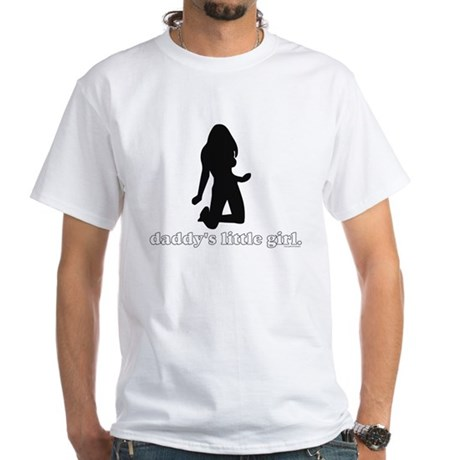 Daddy's Girl White T-Shirt
