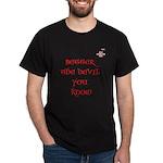 BAN EXORCISM NOW - Ken Wills slogan - Dark T-Shirt