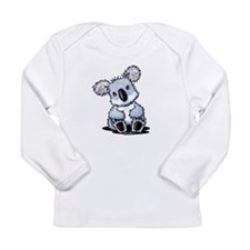 Sitting Koala Long Sleeve Infant T-Shirt