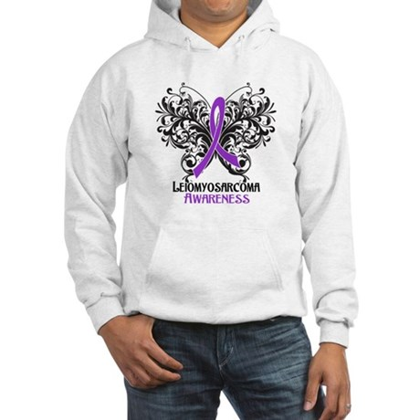 Butterfly Leiomyosarcoma Hooded Sweatshirt