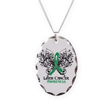 Butterfly Liver Cancer Necklace