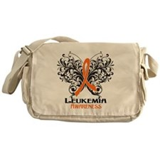 Butterfly Leukemia Messenger Bag