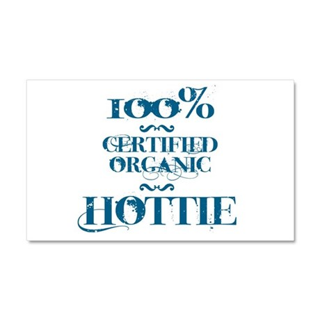 100% certified organic hottie Car Magnet 20 x 12