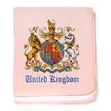 Royal Coat Of Arms baby blanket