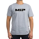 MIP Men's Dark Fitted T-Shirt (Front Logo Only)