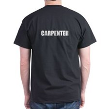 Carpenter text on the front and back