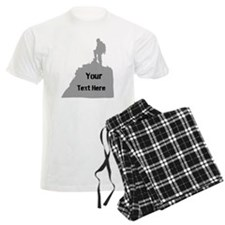 Hiking. Your Own Text. Pajamas