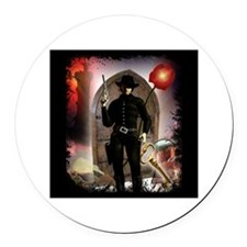 The Dark Tower Round Car Magnet
