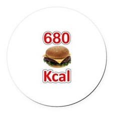 680 Kcal Round Car Magnet