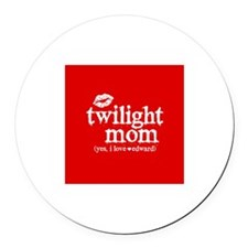 Twilight Mom Round Car Magnet
