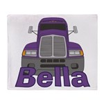 Trucker Bella Throw Blanket