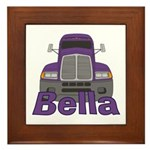 Trucker Bella Framed Tile