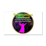 Graduation: 0003c Car Magnet 20 x 12