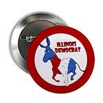 Illinois Democrat Political Button