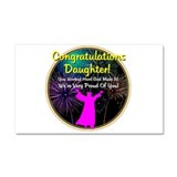 Graduation: 0003g Car Magnet 20 x 12