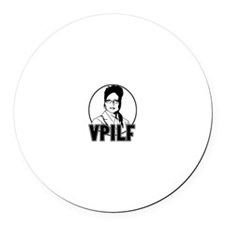 VPILF Round Car Magnet