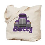 Trucker Betty Tote Bag