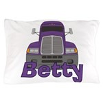 Trucker Betty Pillow Case