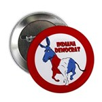 Indiana Democrat Political Button