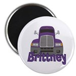 Trucker Brittney Magnet