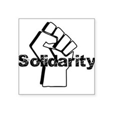 Solidarity Square Sticker