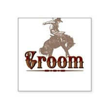 Groom Square Sticker